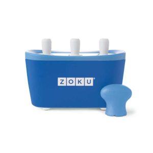 Zoku ZK101 Dispozitiv inghetata 3 incinte albastru